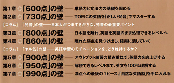 TOEIC(R)テスト300点から990点へ、「7つの壁」を突破するブレイクスルー英語勉強法 清涼院 流水 (著)